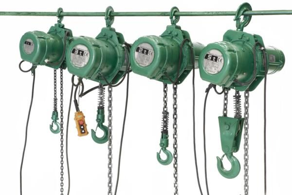 Electrical chain hoists 2