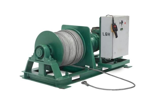 Electrical wire rope winches 2