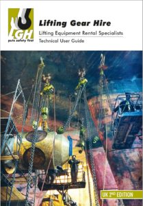 Front Cover LGH Lifting Equipment Catalogue