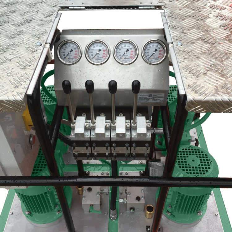Hydraulic Skidding System Pump