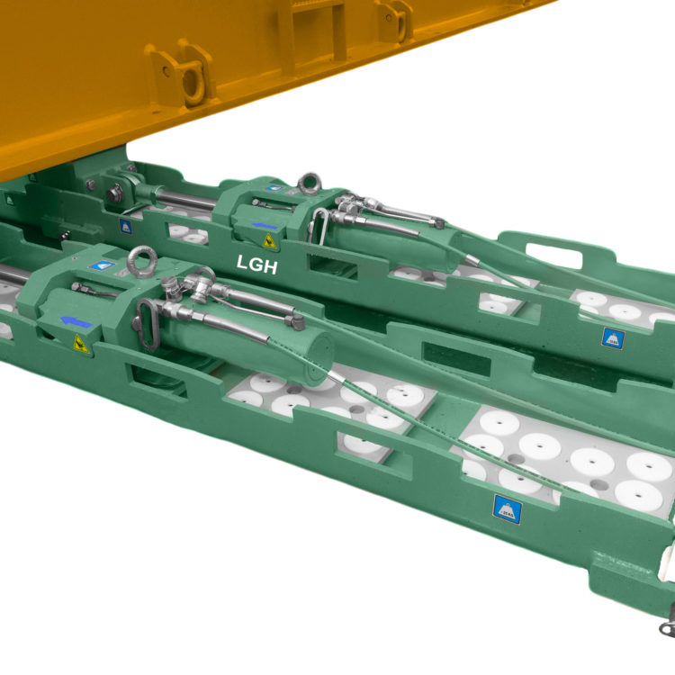 Hydraulic Skidding System Tracks
