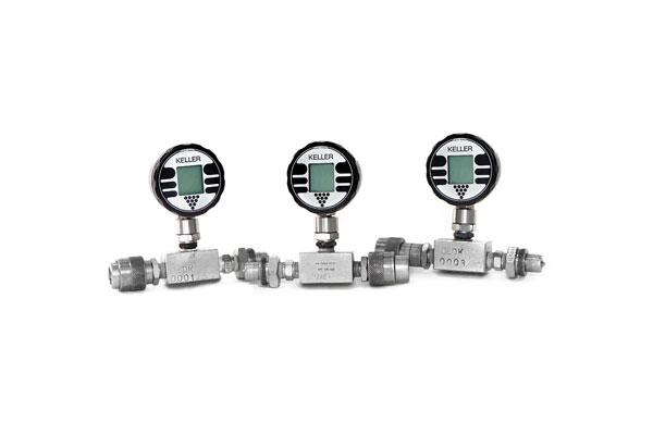 Digitales Manometer/Kellermeter