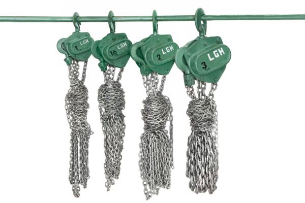 Spur gear chain hoists 1