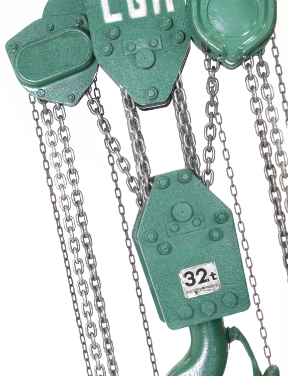Spur gear chain hoists 4
