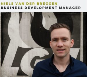 Business Development Manager Niels van der Vanna