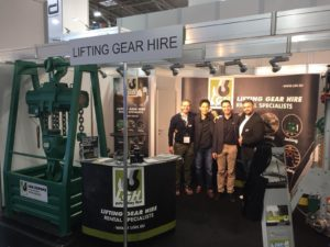 Our booth at Bauma