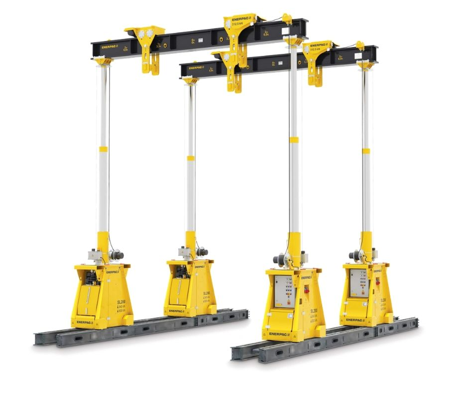 Features - ENERPAC - Hydraulic Lifting System_SL100 - EN