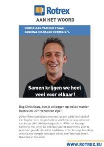 Rotrex interview - Christiaan