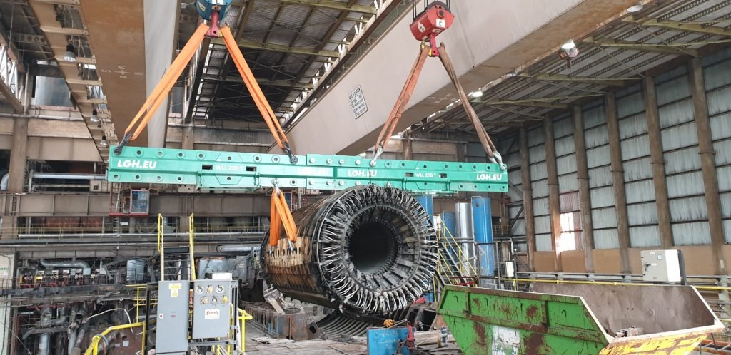 Stator at Rugely